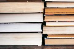 堆书,课本 图库摄影