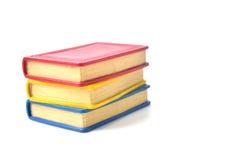 堆书-书架的 免版税库存图片