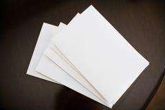 堆信封 免版税库存图片