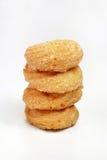 堆典型的巴西多福饼叫Samanta 免版税图库摄影