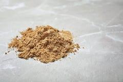 堆南瓜面粉 库存图片