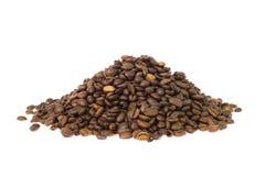 堆咖啡豆 库存照片