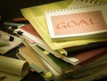 堆商业文件;目标 库存照片