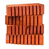 堆四块建筑砖 免版税图库摄影
