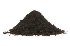 堆土壤腐植质 免版税库存图片