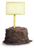 堆土壤,有益的提议 免版税库存照片
