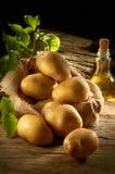 堆土豆 免版税库存照片