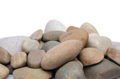 堆小卵石 免版税图库摄影