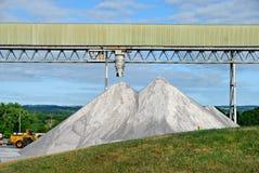 堆岩盐 免版税库存照片