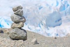 堆岩石在挪威 库存图片