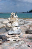 堆岩石 免版税库存照片