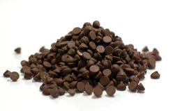 堆巧克力片 免版税库存图片