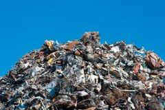 堆废金属 免版税库存图片