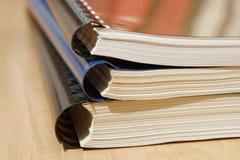 堆文件 免版税库存图片