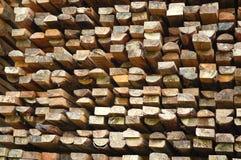 堆木头 免版税库存照片