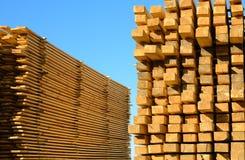 堆木板 免版税库存照片