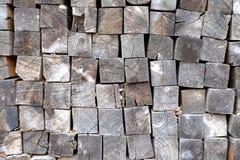堆木纹理 免版税图库摄影