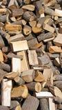堆木头 库存图片