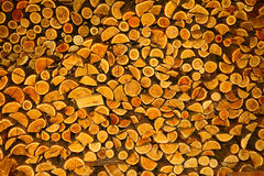 堆木头 库存照片