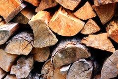 堆木柴 库存照片