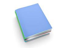 堆杂志 库存例证