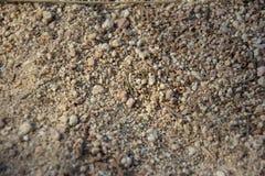 堆沙子 免版税图库摄影