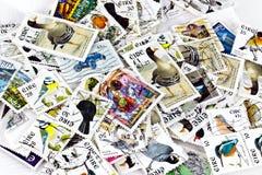堆混杂的爱尔兰印花税 库存图片