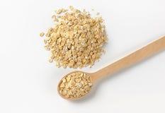 堆燕麦剥落 免版税库存图片