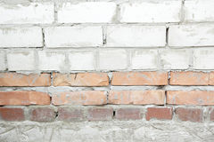 堆白色砖 免版税库存照片
