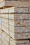 堆的木头  库存图片