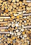 堆的纹理木头 免版税库存图片
