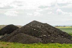 堆石渣 免版税库存图片