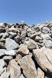 堆石灰石 免版税图库摄影