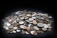 堆硬币 图库摄影