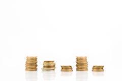 堆硬币 免版税图库摄影