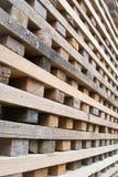 堆硬木 免版税库存照片