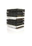 堆硬盘 免版税图库摄影