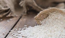 堆积米 免版税图库摄影