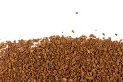 堆立即咖啡粒 库存照片