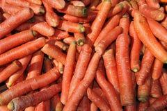 堆红萝卜 免版税库存照片