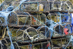 堆纱架在斯凯岛 图库摄影