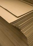 堆纸板 免版税库存照片