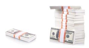 堆美元 免版税库存照片