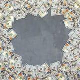堆美金 免版税库存图片
