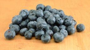 堆蓝莓 库存照片