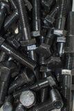 堆螺栓的备件 图库摄影