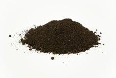 堆蠕虫腐植质土壤 免版税图库摄影