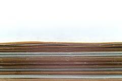 堆许多纸 免版税库存照片