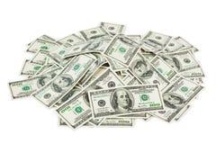 堆货币 库存照片