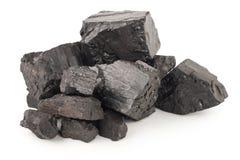 堆采煤 免版税库存照片